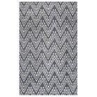 Bilhorod Hand-Tufted Dark Grey Area Rug Rug Size: Rectangle 2' x 3'