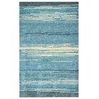 Guiana Hand-Tufted Blue Area Rug Rug Size: Rectangle 3'6