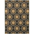 Sheridan Blue/Brown Area Rug Rug Size: Rectangle 7'10