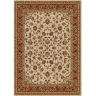 Weisgerber Ivory Area Rug Rug Size: Rectangle 5'5