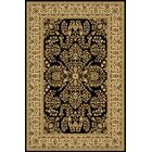 Gloucester Black Area Rug Rug Size: Rectangle 9'10