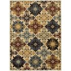 Bretton Geometric Ivory/Multi Area Rug Rug Size: Rectangle 5'3