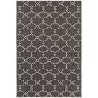 Brookline Grey/Ivory Indoor/Outdoor Area Rug Rug Size: Rectangle 5'3