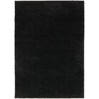 Hanson Black Area Rug Rug Size: Rectangle 7'10
