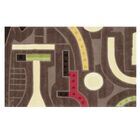 Ripley Hand-Tufted Brown Area Rug Rug Size: Rectangle 5' x 8'