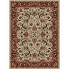 Ankara Sultanabad Ivory Rug Rug Size: Rectangle 3'11