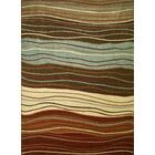 Chester Waves Multi Area Rug Rug Size: Rectangle 6'7