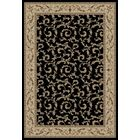 Jewel Veronica Black Floral Area Rug Rug Size: Rectangle 9'3