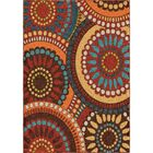 Fremont Red/Brown Area Rug Rug Size: Rectangle 7'8
