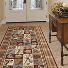 Clifford Brown Area Rug Rug Size: 5'3'' x 7'3''