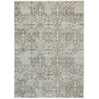 Bartley Beige Area Rug Rug Size: Rectangle 5'3