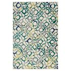 Lenore Teal Area Rug Rug Size: Rectangle 7'7