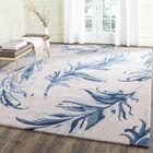 Genesee Beige/Blue Area Rug Rug Size: Rectangle 5' x 8'