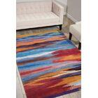 Akuna Hand-Tufted Sunset Area Rug Rug Size: Rectangle 5' x 7'6