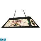 Alexandria Lighting/Billiard/Island 4-Light Pool Table Light Shade Color: Green