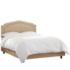 Andy Upholstered Panel Bed Size: Full, Headboard Color: Oatmeal