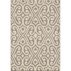 Erelina Gray/Beige Area Rug Rug Size: Rectangle 7'10