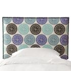 Goldie Upholstered Panel Headboard Size: California King