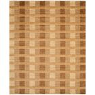 Apple Creek Hand-Knotted Brown Area Rug Rug Size: Rectangle 8' x 10'