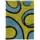 Milstead Green Area Rug Rug Size: 5' x 7'