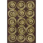 Millwood Hand Tufted Wool Green/Brown Area Rug