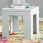 Belwood Modern End Table Color: Off White