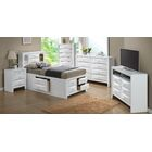 Medford Storage Platform Bed Color: White, Size: Twin
