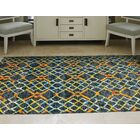 Sanford Hand-Tufted Amber Area Rug Rug Size: Rectangle 2' x 3'