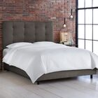 Arielle Full/Double Upholstered Panel Bed Size: King, Color: Premier Oatmeal