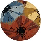 Armstrong Area Rug Rug Size: Round 6'