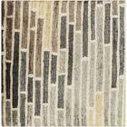 Barrera Icicle/Slate Gray Rug Rug Size: Rectangle 2' x 3'