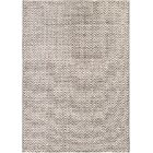 Carla Light Brown/Ivory Indoor/Outdoor Area Rug Rug Size: Rectangle 6'6