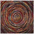 Miley Misc Red Area Rug Rug Size: Square 6'6