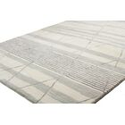 Kelson Hand Tufted Wool Ivory Area Rug Rug Size: 3'9