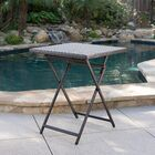 Will Outdoor Wicker Bistro Table