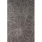 Gina Hand-Tufted Steel Area Rug Rug Size: Rectangle 8' x 10'