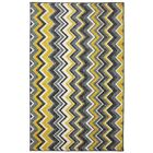 Claireville Yellow/Gray Area Rug Rug Size: Rectangle 7'6