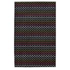 Rhoda Dyllan Power Loom Red Area Rug Rug Size: Rectangle 5' x 8'