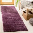 Schmitt Purple Area Rug Rug Size: Runner 2'3