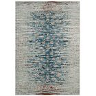 Longino Contemporary Teal/Beige Area Rug Rug Size: Rectangle 8' x 10'