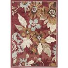 Berloz Red/Brown Area Rug Rug Size: Rectangle 5'3