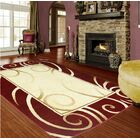 Red/Beige Area Rug Rug Size: 5' x 8'