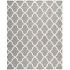 Sugar Pine Hand-Tufted Gray Area Rug Rug Size: Rectangle 8' x 10'
