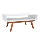 Margaret Coffee Table Color: White