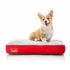 Soft Shredded Memory Foam Pet Bed Color: Red, Size: Medium (28