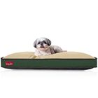 Washable Waterproof Pillow Pet Bed Color: Khaki Forest