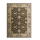 Lang Brown Area Rug Rug Size: 3'11 x 5'11