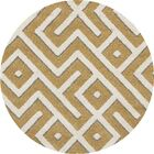 Charette Yellow Area Rug Rug Size: 3'11 x 5'7