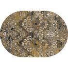 Hewish Yellow Area Rug Rug Size: 10'11 x 15