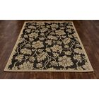Beaminster Black/Beige Indoor/Outdoor Area Rug Rug Size: 7'10 x 10'6